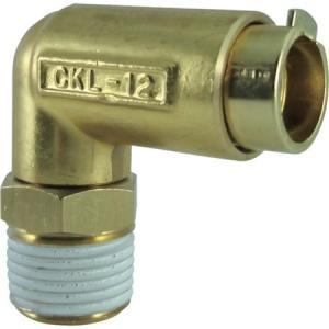 タッチコネクターエルボコネクターHタイプ(金属) チヨダ CKL1204H-4056|n-tools