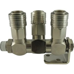 フリージョイントCHS 3分岐ユニバーサルタイプ R3/8 チヨダ CHFJ3U03-4056|n-tools