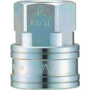 クイックカップリング TL型 鋼鉄製 オネジ取付用 ナック CTL08SF-5172|n-tools