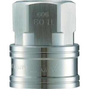 クイックカップリング TL型 ステンレス製 オネジ取付用 ナック CTL04SF3-5172|n-tools