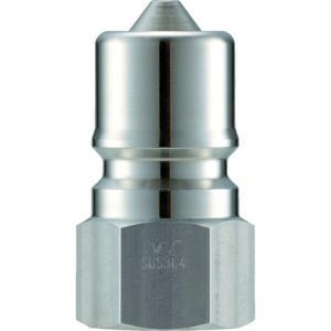 クイックカップリング SPE型 ステンレス製 大流量型 オネジ取付用 ナック CSPE06P3-5172|n-tools
