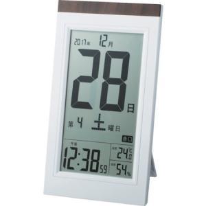 ADESSO デジタル日メクリ電波時計 KW9254の関連商品4