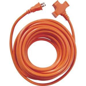 3個口超ソフト延長コード オレンジ スターライト TR110O-3231 n-tools