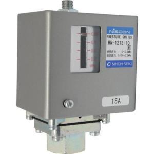 日本精器 圧力スイッチ設定圧力0.03〜0.3MPa BN-1213-10 n-tools