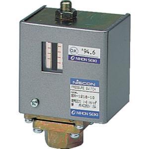 日本精器 圧力スイッチ設定圧力0.1〜0.8MPa BN-1218-10 n-tools