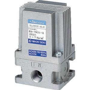 日本精器 3方向電磁弁8AAC100V7Mシリーズ BN-7M31-8-E100 n-tools