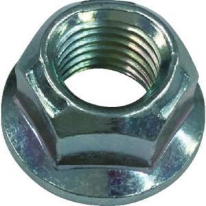 紀州ファスナー 三価クロメート スリーロックナットFL付小形M10-1.25φ1 TLNF10219|n-tools