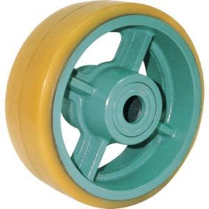 ヨドノ 鋳物重荷重用ウレタン車輪ベアリング入 UHB100X65 UHB100X65|n-tools