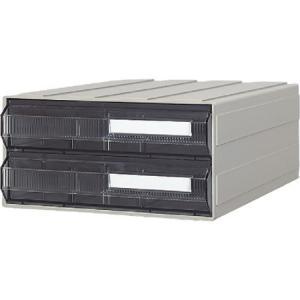 ビジネスカセッター A4タイプ 引出2段 サカセ A4242-3007|n-tools