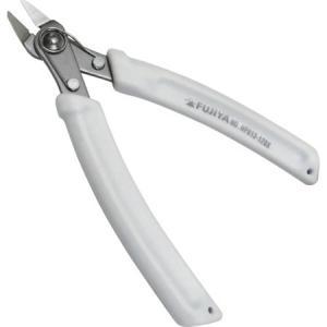 極薄プラスチックニッパ(片刃)120mm フジ矢 HP813120X-6059|n-tools