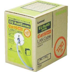 EURoHS指令準拠LANケーブル100mリール巻ブルー エレコム LDCT6BU100RS-1058|n-tools