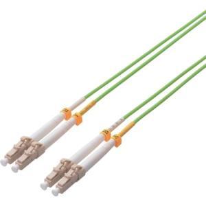 エレコム 光ファイバーケーブル マルチモード 1G LC-LC 5m OCLCLC55|n-tools