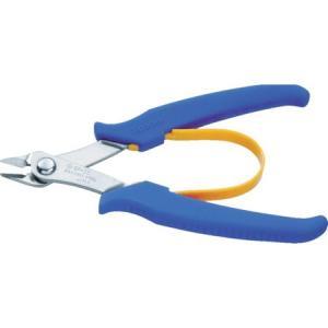 ステンレス製プラスチックニッパ(バネ付) 130mm スリーピークス SP33-3081|n-tools
