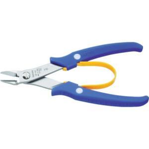 スリーピークス ミドルステンレス プラスチックニッパ(バネ付) 150mm SP43|n-tools