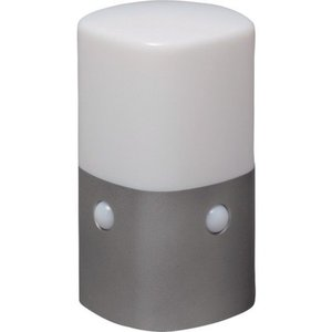 乾電池式LEDセンサーライト スタンドタイプ 角型 電球色 IRIS OSLML2KWS-1256|n-tools