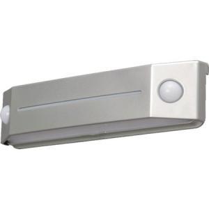 乾電池式LEDセンサーライト フットタイプ 電球色 IRIS BOSFL2WS-1256|n-tools