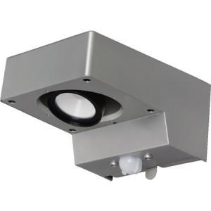 乾電池式LEDセンサーライト スポットタイプ 電球色 IRIS BOSSL1WS-1256|n-tools