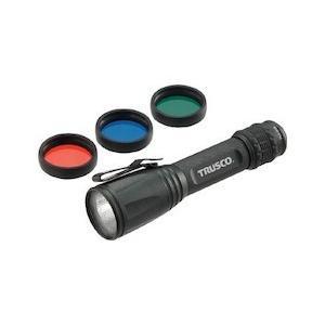 アルミLEDライト 170ルーメン カラーレンズ3色付 TRUSCO TALC1512L-8037 n-tools