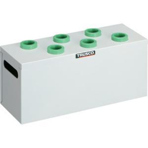 TRUSCO ツーリングケース NT・BT兼用 30用ホルダー6個 W色 WNT306W|n-tools