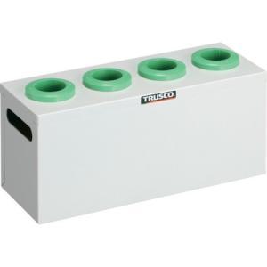 TRUSCO ツーリングケース NT・BT兼用 40用ホルダー4個 W色 WNT404W|n-tools