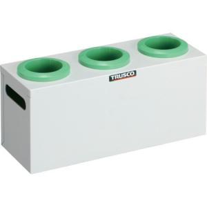 TRUSCO ツーリングケース NT・BT兼用 50用ホルダー3個 W色 WNT503W|n-tools