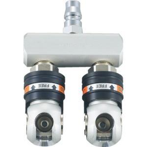 オートロック・スウィングペアーカップリング TRUSCO TSC2P-4500|n-tools