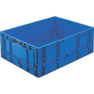 TPO型 折りたたみコンテナ TP規格 63L 暗青 TRUSCO TPO462.5-8000|n-tools
