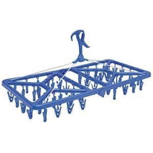 マイランドリー2 角ハンガースー パージャンボ 52ピンチ ブルー オーエ n-tools