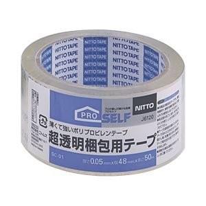 超透明梱包テープ 48mm×50m ニトムズ|n-tools