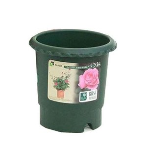 バラ鉢 6号 ダークグリーン(DG) リッチェルの商品画像