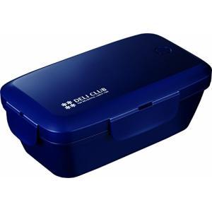デリクラブ 弁当箱 ランチボックス 500mL ネイビー TLB-510 アスベル n-tools