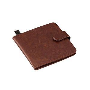 スマートna カードケース mini ブラウン 24枚収納 1007660 アイメディア|n-tools