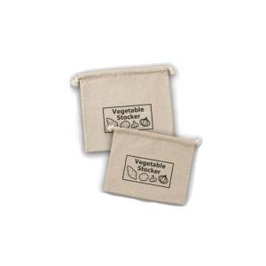 根菜類保存バッグ 2枚組 収納袋 1008028 アイメディア|n-tools