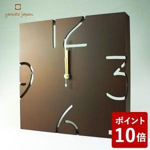 ヤマト工芸 PUZZLE WALL TYPE W 掛け時計 シナブラウン YK09-104 yamato japan|n-tools