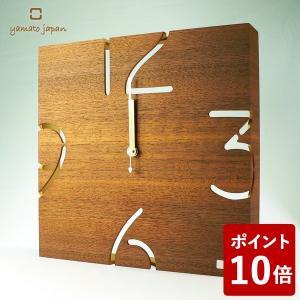 ヤマト工芸 PUZZLE WALL TYPE S 掛け時計 ウォールナット YK09-105 yamato japan|n-tools