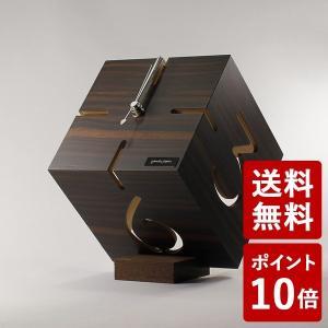 ヤマト工芸 PUZZLE STAND M 置き時計 黒壇 YK09-106 yamato japan|n-tools