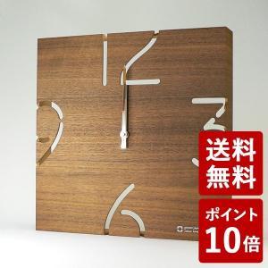 ヤマト工芸 PUZZLE 電波時計 ウォールナット YK10-102 yamato japan|n-tools