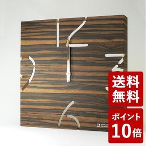 ヤマト工芸 PUZZLE 電波時計 黒檀 YK10-102 yamato japan|n-tools