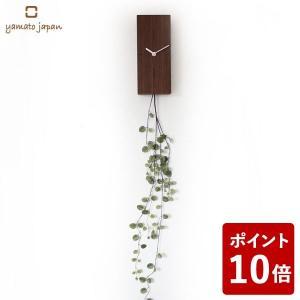 ヤマト工芸 GREEN CLOCK 角 掛け時計 ワイヤープランツ YK18-101 yamato japan|n-tools