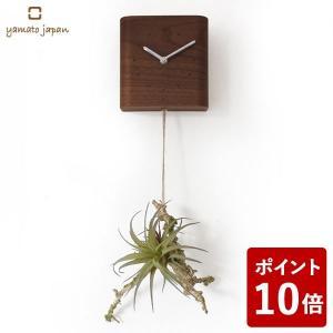 ヤマト工芸 GREEN CLOCK R 掛け時計 エアプランツ YK18-101 yamato japan|n-tools