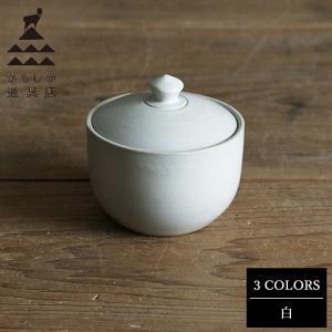 かもしか道具店 おともの器 白 山口陶器|n-tools