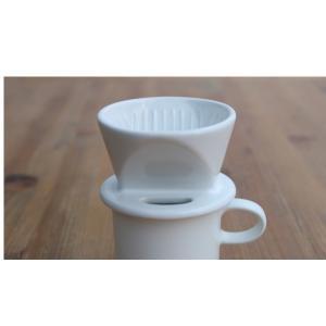 かもしか道具店 マグ (ドリッパー別売) 白 山口陶器|n-tools