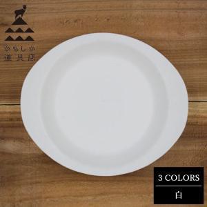 かもしか道具店 陶のフライパン こぶり(直径20.5cm、高さ1.75cm) 白|n-tools