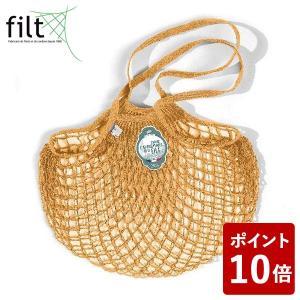 e0f4ef206d4c Filt (フィルト) ネットバッグ ロング ゴールド 220JAUNEGOLD01