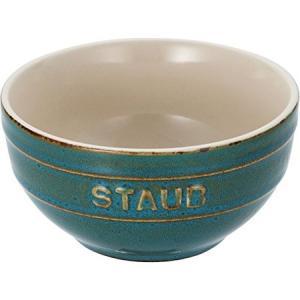 STAUB(ストウブ) セラミックボウル 12cm ターコイズ 40511-832|n-tools