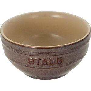 STAUB(ストウブ) セラミックボウル 14cm アンティークグレー 40511-862|n-tools