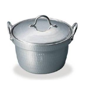 アルミ打出 段付き鍋蓋付16cm n-tools