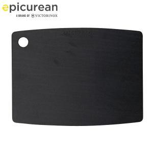 EPICUREAN カッティングボードM ブラック 001-120902 エピキュリアン ワイヨット サービングボード 黒 エコ素材|n-tools