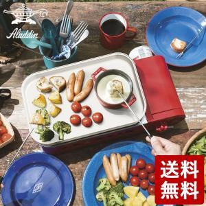 センゴクアラジン ポータブルガスホットプレート プチパン レッド SAG-RS21(R) Sengoku Aladdin n-tools