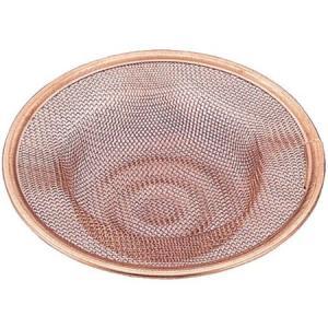 純銅 排水ネット 大 70450 アイザワ|n-tools